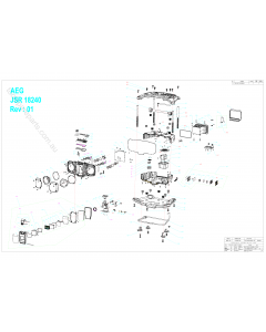 AEG JSR18240 Spare Parts
