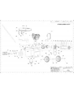 AEG AGN3000 Spare Parts