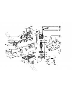AEG VSSE260 Spare Parts