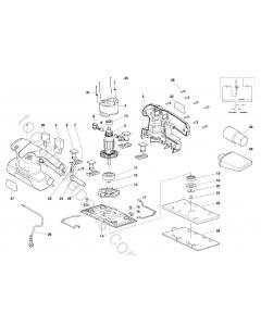 AEG OS200 Spare Parts