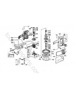 AEG EXE450-125 Spare Parts
