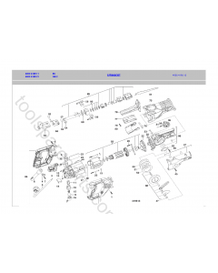 AEG US900XE Spare Parts