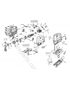 AEG JS500E Spare Parts