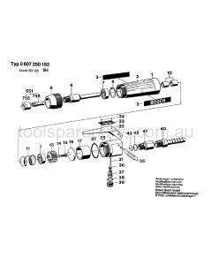Bosch 50 WATT-SERIE 0607250194 Spare Parts