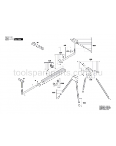 Bosch --- 3601M12480 Spare Parts