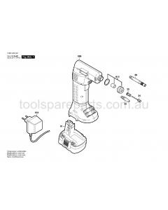 Bosch PAG 12 V 0603946522 Spare Parts