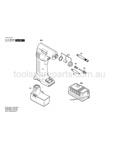 Bosch PAG 9.6 V 0603945622 Spare Parts