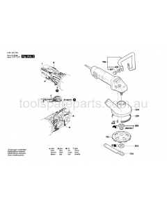 Bosch GBR 14 C 0601373737 Spare Parts