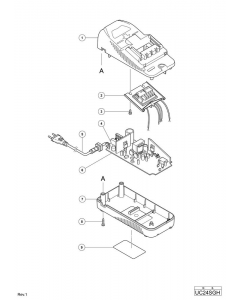 Hitachi CHARGER UC24SGH Spare Parts