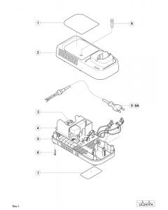 Hitachi CHARGER UC24YFA Spare Parts