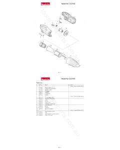 Makita CL070D Spare Parts