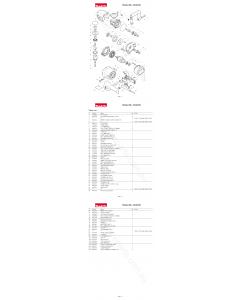 Makita DA4030 Spare Parts