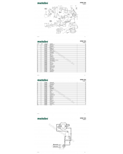 Metabo STEB 135 11200310 Spare Parts