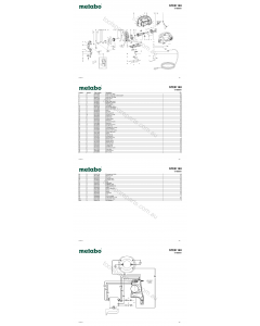 Metabo STEB 140 01402001 Spare Parts