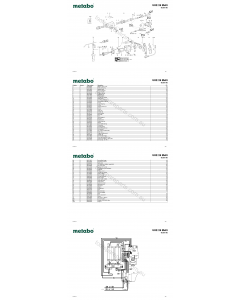 Metabo UHE 28 Multi 00361190 Spare Parts