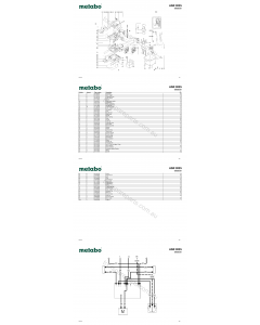 Metabo ASR 2025 02022381 Spare Parts