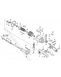 Milwaukee DG14-50Q Spare Parts