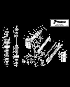 Paslode DA65.1 B20160 Spare Parts