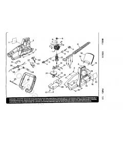 Ryobi RTD510 Spare Parts