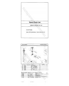 Ryobi RPW2200C Spare Parts
