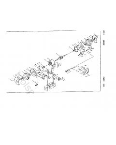 Ryobi HBG8R Spare Parts