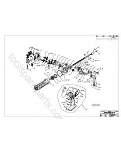 Ryobi R18CG Spare Parts