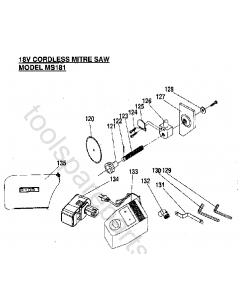 Ryobi MS181 Spare Parts