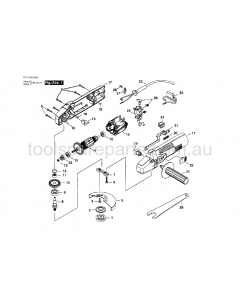 SKIL 9300-80 F012930080 Spare Parts
