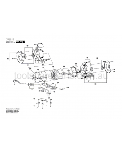 SKIL 3000 F012300031 Spare Parts