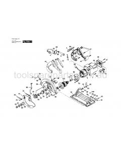 SKIL HD 5660-41 F01256601V Spare Parts