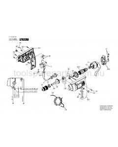 SKIL 6522 H1 F0156522K1 Spare Parts