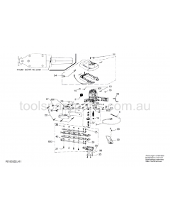 SKIL 522H1 F0150522A1 Spare Parts