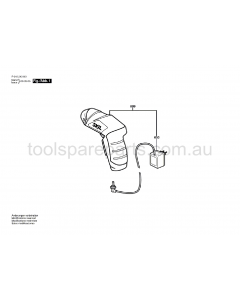 SKIL 2436JZ F015243631 Spare Parts