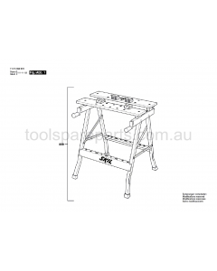 SKIL 0909 F015090924 Spare Parts