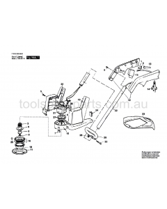 SKIL 538H2 F0150538H2 Spare Parts