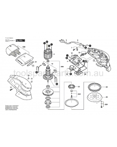 SKIL 7460 F015746031 Spare Parts