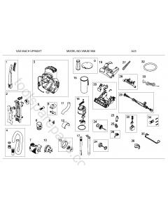 Vax VMUB1900 Spare Parts
