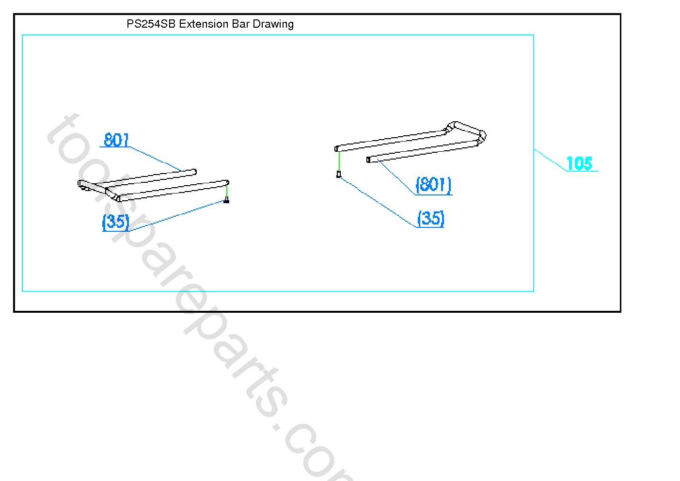 AEG PS254SB  Diagram 3