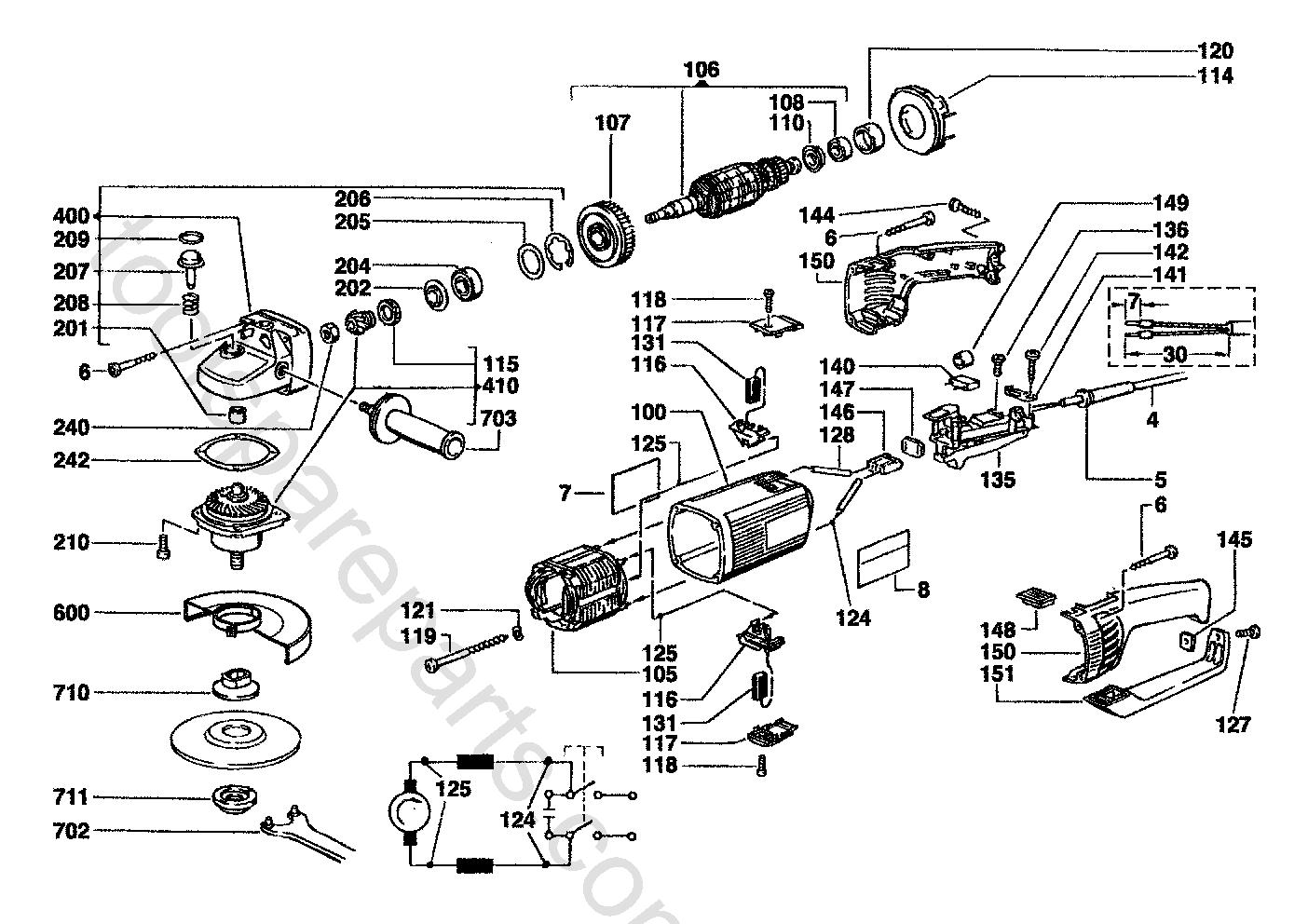 AEG WSL230  Diagram 3