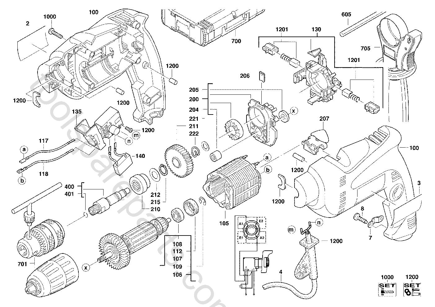 AEG SBE600R  Diagram 4